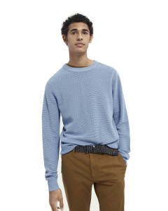 Crewneck knit sweater-Scotch & Soda