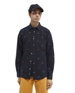 Coral Regular Fit Shirt-Scotch & Soda