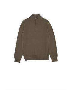 RIB HALF ZIP- FRENCH CONNECTION