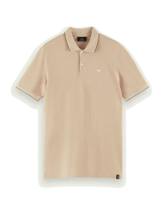 ORGANIC COTTON POLO- SCOTCH & SODA