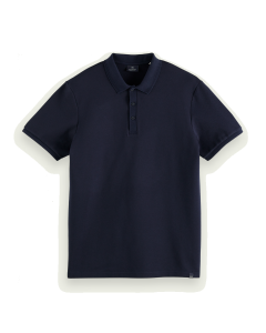 COTTON POLO- SCOTCH & SODA