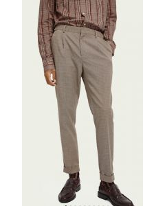 CLASSIC PLEATED CHINO- SCOTCH & SODA