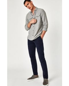 JOHNNY SLIM CHINO IN DARK NAVY TWILL - MAVI