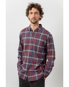 Rails - Red and Navy Long Sleeve Flannel